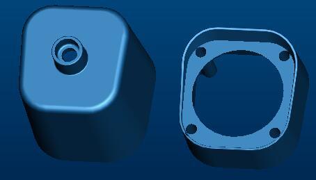 安防外壳压铸模具