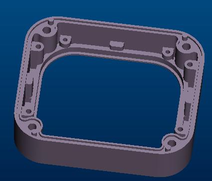 开发生产安防外壳压铸模具