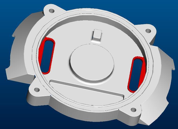 散热器压铸模具